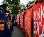 PHILIPPINES MANILA ANTI U.S. PROTEST