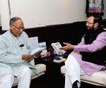 Manipur CM calls on Prakash Javadekar
