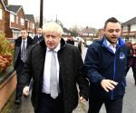 BRITAIN MANSFIELD GENERAL ELECTION CANVASSING BORIS JOHNSON