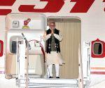 Maputo (Mozambique)  Prime Minister Narendra Modi arrives at  Maputo