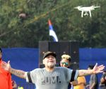 Free Photo: Maradona's visit to Kolkata