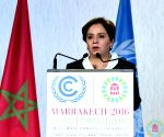UN's climate chief asks nations to finish talks with strong outcome