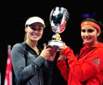 SINGAPORE WTA WOWEN DOUBLES FINAL