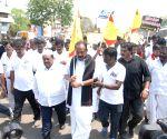 Thoothukudi (Tamil Nadu): DMK-MDMK meetin over Neutrino observatory in Theni