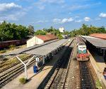 SRI LANKA-CHINA-FUNDED RAILWAY LINE-OPEN