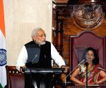 Modi addresses at the National Assembly of Mauritius