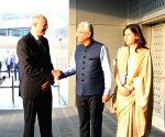 Mauritius PM arrives in India