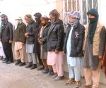 AFGHANISTAN MAZAR E SHARIF MILITANTS SURRENDER CEREMONY