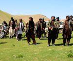 AFGHANISTAN MAZAR I SHARIF SURRENDER CEREMONY TALIBAN FIGHTERS