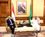SAUDI ARABIA MECCA KING YEMEN PRESIDENT MEETING