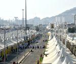 SAUDI ARABIA MECCA PILGRIMAGE END