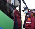 CHINA SICHUN CHENGDU MEDICAL STAFF WUHAN AID