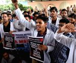 Medical students protest