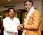 Meghalaya CM calls on Prahalad Singh Patel