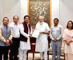 Meghalaya CM meets PM Modi