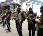 SWAT team on guard during National Green Tribunal hearing