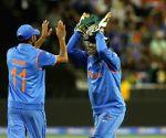 Melbourne (Australia): ICC World Cup - 2015 quarter finals - India vs Bangladesh
