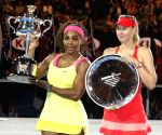 AUSTRALIA MELBOURNE TENNIS AUSTRALIAN OPEN WOMEN'S SINGLES FINAL