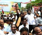 TESO during the state-wide protest demanding several issues