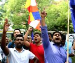 Demonstration against Kerala Dalit woman's murder