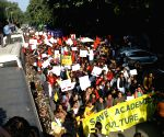ABVP holds pro-CAA march