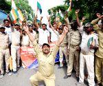Bihar Gram Raksha Dal's demonstration