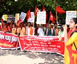 Central Trade Unions protest against labour bills