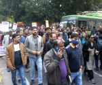 DUTA's demonstration against Javadekar
