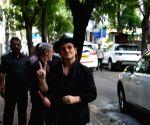 U2 Members visit Mani Bhawan