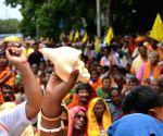 Paschim Banga Rajya Sanatan Brahman Trust's demonstration
