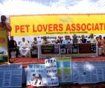 Pet Lovers Association demonstration