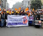 Sikh organisations take out a rally in support of Gurbaksh Singh