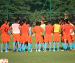 Indian U-17 National Team's first training session