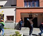 BOLIVIA LA PAZ SOCIETY PROTEST