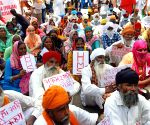 Trade Unions protest against various policies of the Central Govt