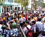 West Bengal Teachers Unity Open Forum's protest