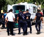 TURKEY MERSIN SUICIDE BOMBER KILLED