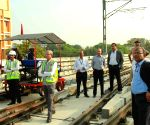 CMRS officials inspect the route between JBS and MGBS