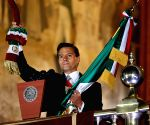 MEXICO MEXICO CITY PRESIDENT INDEPENDENCE DAY CELEBRATION