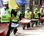 MEXICO MEXICO CITY EARTHQUAKE RESCUE