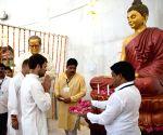 Rahul Gandhi visits Ambedkar memorial