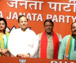 TMC MLA, Milli Al-Ameen College Principal join BJP