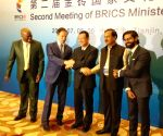 Tianjin (China): Meeting of BRICS Ministers of Culture - Mahesh Sharma