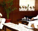 Prahalad Singh Patel meets Ramesh Pokhriyal
