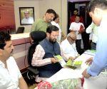 Prakash Javadekar during a public meeting