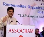 ASSOCHAM 8th Global CSR Summit-cum-Responsible Organisation Excellence Awards 2015-16 - Piyush Goyal
