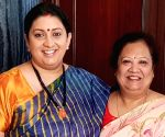 Smriti Irani posts throwback pics to showcase 'weight' gain