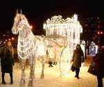 BELARUS-MINSK-NEW YEAR-LIGHTS