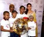 Mira Rajput during Helping Hands programme