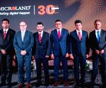 Mircoland Ltd - 30th year anniversary celebration